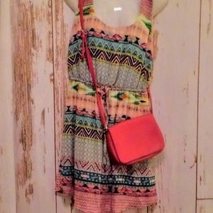 Bundle🌼Rue 21 sleeveless dress/accessories